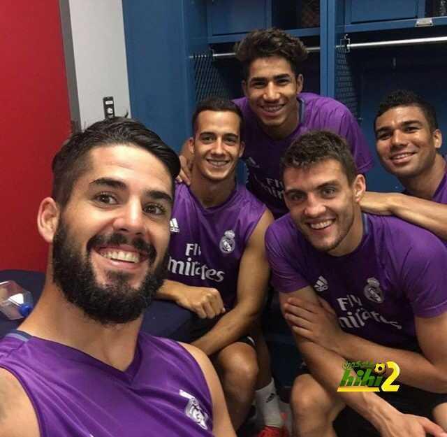 صورة : لاعبو ريال مدريد يؤكدون جاهزيتهم لمباراة بايرن ميونخ ! coobra.net
