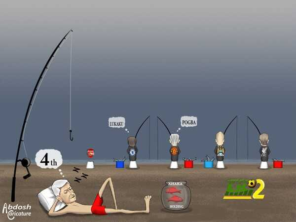 كاريكاتير هاي كورة ? سوق الانتقالات في انجلترا coobra.net