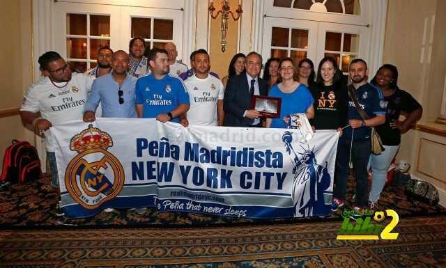 صور : فلورونتينو بيريز يلتقي بممثلي مختلف الرابطات المحبة لريال مدريد بأمريكا! coobra.net