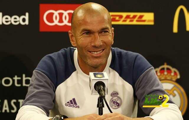 زيدان يعلن عن جاهزية ريال مدريد للسوبر الأوروبي coobra.net