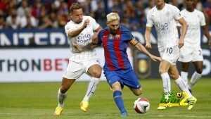 فيديو : تسجيل كامل لمباراة برشلونة ضد ليستر سيتي coobra.net