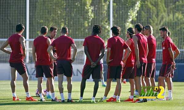 صور : اتليتكو مدريد يواصل استعداداته للموسم المقبل coobra.net