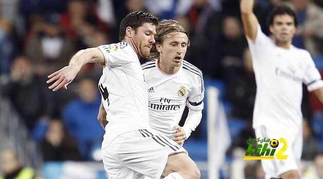 ماذا قال ألونسو بعدما إلتقى بلاعبي ريال مدريد والمايسترو مودرتش ؟ coobra.net