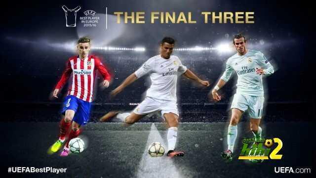 من يتوج بلقب أفضل لاعب في آوروبا ؟ coobra.net