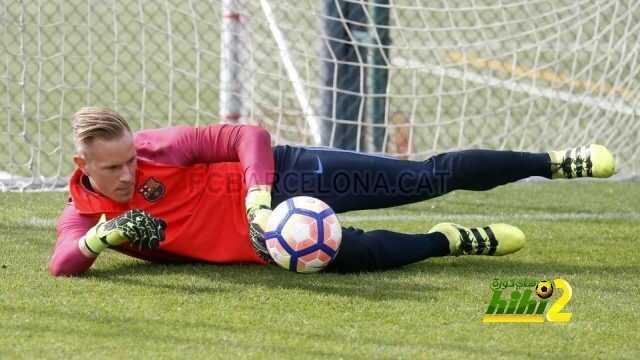 صور : برشلونة يواصل الاستعداد لليفربول coobra.net