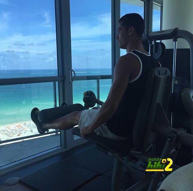 صورة : رونالدو يتدرب رغم العطلة coobra.net