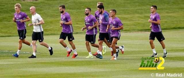 تفاصيل التدريب الأول لريال مدريد بعد عودته من جولته الأمريكية ! coobra.net