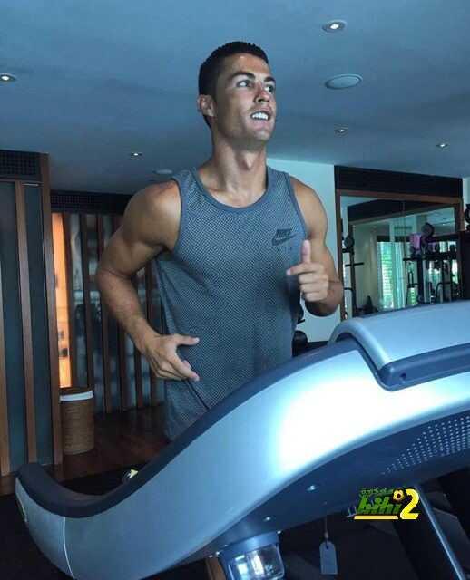 صورة : رونالدو يواصل الاستعداد للموسم الجديد قبل الانضمام للريال coobra.net