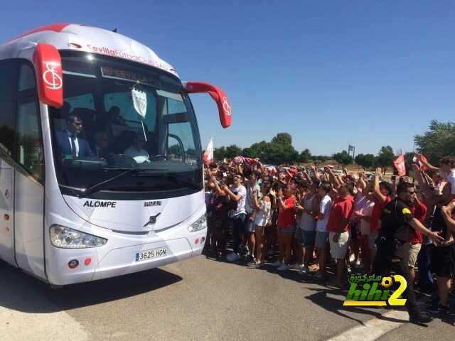 صور :حشود كبيرة من جماهير إشبيلية تودع الفريق قبل مباراة السوبر الأوروبي! coobra.net