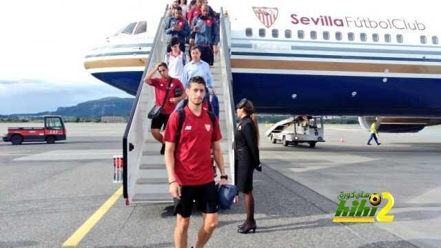 صور : وصول نادي إشبيلية للنرويج من أجل مباراة السوبر الأوروبي! coobra.net