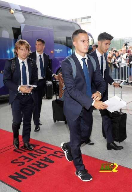 صور : وصول نادي ريال مدريد للنرويج من أجل نهائي السوبر الأوروبي coobra.net