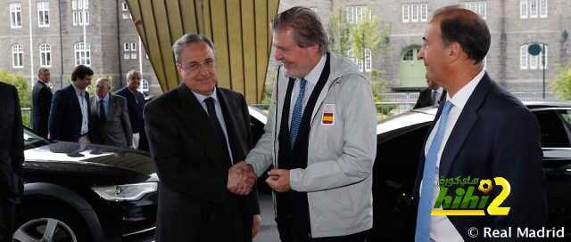 صورة : وصول رئيس نادي ريال مدريد لتروندهايم من أجل نهائي السوبر الأوروبي coobra.net