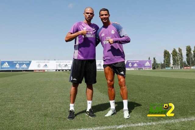 صورة : عودة رونالدو وبيبي للريال بعد انتهاء العطلة coobra.net
