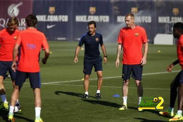صور : استعدادات برشلونة للسوبر الإسباني coobra.net