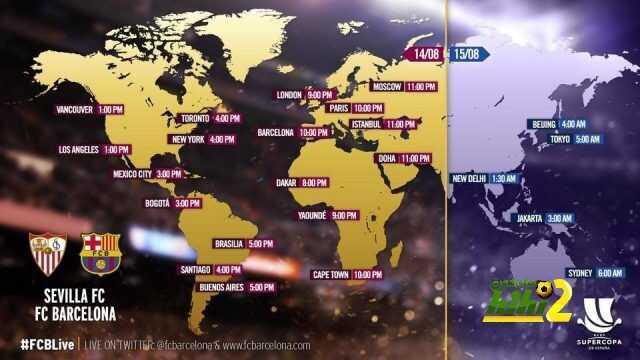 صورة : توقيت ذهاب السوبر الإسباني في مختلف بلدان العالم coobra.net