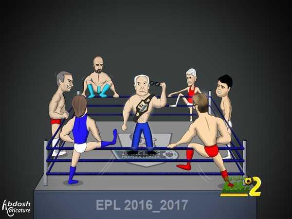 كاريكاتير هاي كورة ? انطلاقة الدوري الانجليزي coobra.net