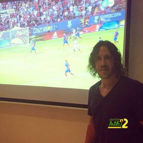 صورة : بويول يتابع السوبر الأسباني ..! coobra.net