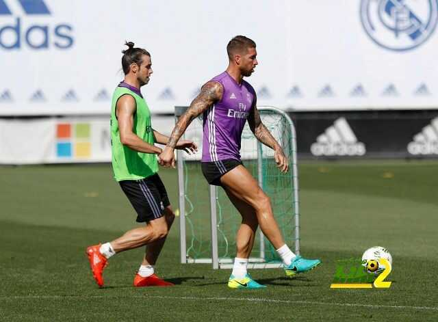 صور : ريال مدريد يستعد لكأس البيرنابيو في حضور بيريز coobra.net