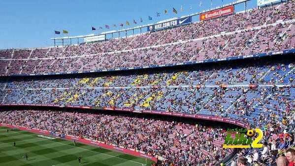 مشكلة تنتظر مشجعي برشلونة في إياب السوبر الإسباني .! coobra.net