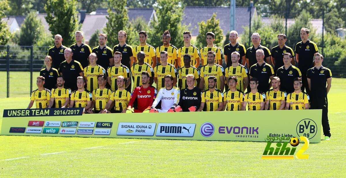 صورة : دورتموند يلتقط الصورة الرسمية له في الموسم الجديد coobra.net