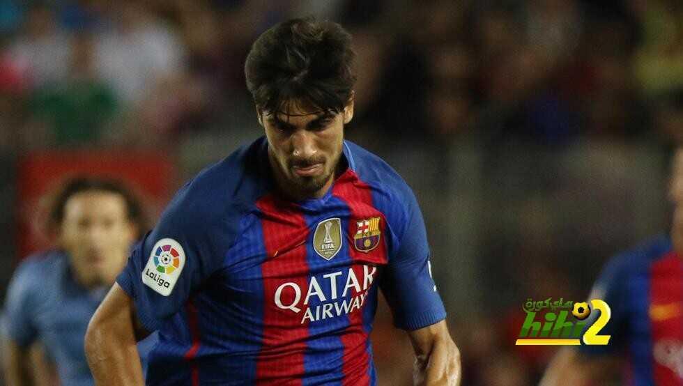 رسميا : أندريه غوميز يغيب عن مواجهة برشلونة أمام بيتيس coobra.net