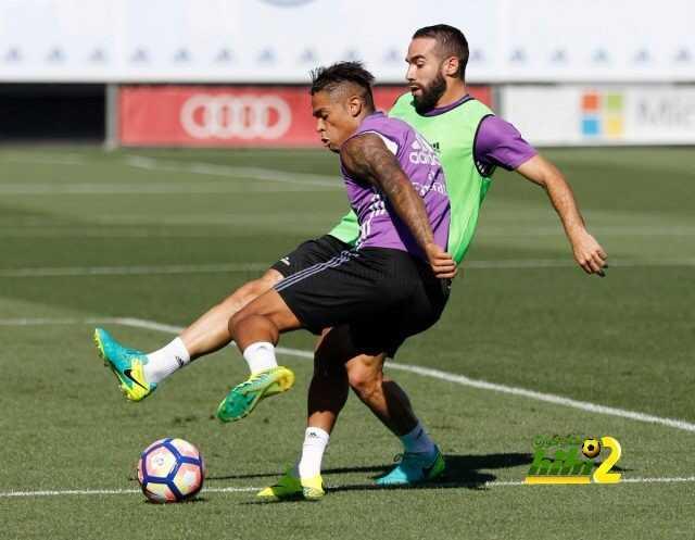 صور : استعدادات ريال مدريد لمواجهة ريال سوسيداد coobra.net