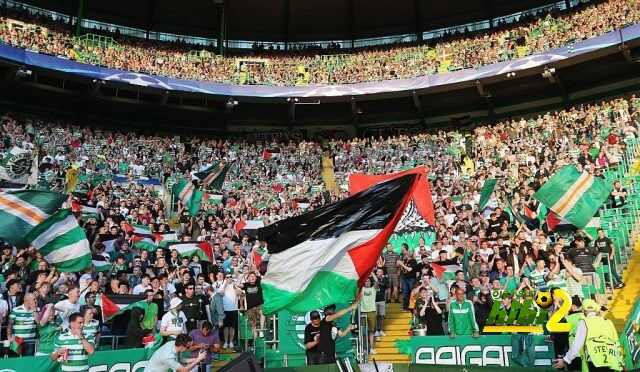 الإتحاد الأوروبي يفتح تحقيق مع سيلتك بعد رفع أعلام فلسطين coobra.net