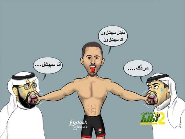 كاريكاتير هاي كورة? سعيد المولد يلجم المشككين coobra.net