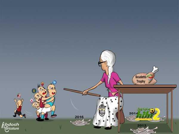 كاريكاتير هاي كورة ? كيف سيبدأ الدوري الايطالي coobra.net