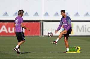 فيديو : لقطات رائعة اثناء تدريبات ريال مدريد قبل مواجهة ريال سوسيداد coobra.net