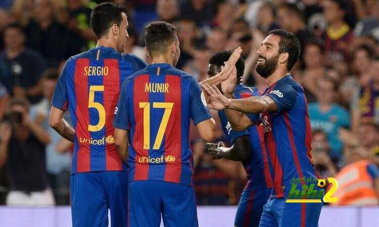 فيديو : برشلونة ينهي الشوط الأول متقدما بثلاثية coobra.net