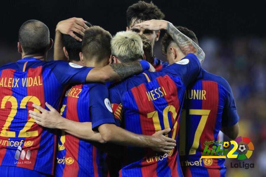برشلونة أكثر من يفوز بانتصارات كاسحة في الليغا coobra.net