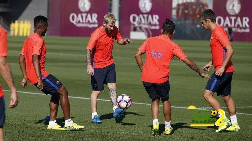 صور : برشلونة يعود للتدريبات بعد اكتساح بيتيس coobra.net
