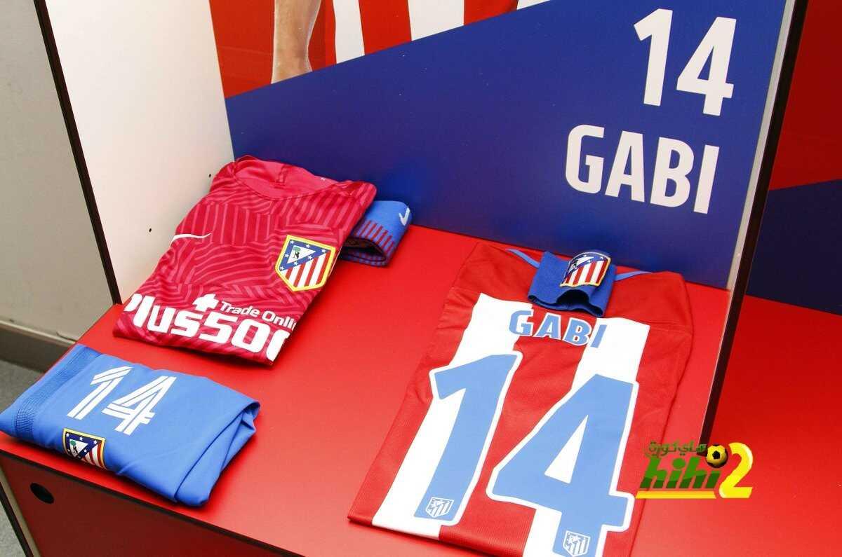 صور : غرفة ملابس أتلتيكو مدريد قبل مواجهة ديبورتيفو ألافيس coobra.net