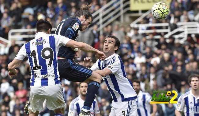 صور : لحظة تسجيل بيل هدف ريال مدريد الأول coobra.net
