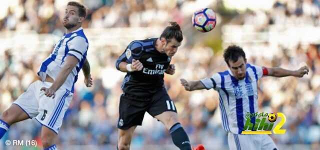 ريال مدريد ينهي الشوط الأول متقدما على ريال سوسيداد بهدفين دون رد! coobra.net