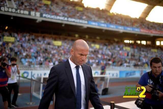ريال مدريد يقدم اداء مميز للغاية تحت قيادة زيدان coobra.net