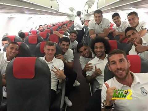 صورة : رحلة عودة ريال مدريد بالثلاث نقاط إلى العاصمة ! coobra.net