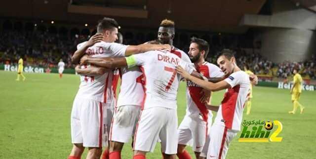 موناكو يفوز على فياريال بهدف قاتل ويتأهل لدور المجموعات ! coobra.net