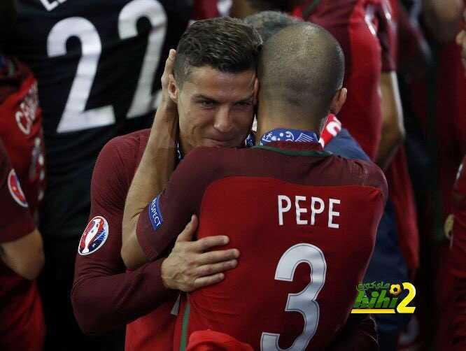 كريستيانو : بيبي كان افضل لاعب في اليورو coobra.net