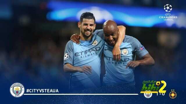 فيديو : مانشستر سيتي يفوز على ستيوا بوخاريست ويتأهل لدور مجموعات دوري الابطال coobra.net