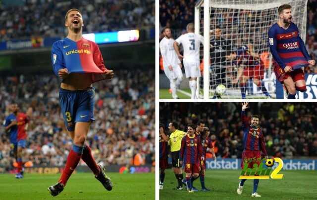 بيكيه وتاريخ طويل من الصراع ضد ريال مدريد! coobra.net