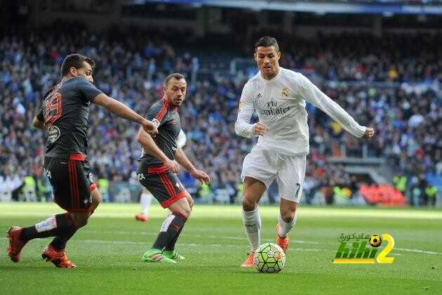 ريال مدريد متفوق فى المواجهات المباشرة ضد سيلتا فيجو coobra.net