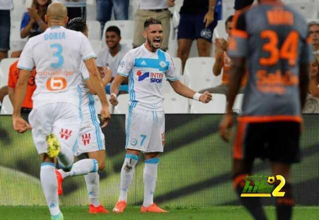 نادي مارسيليا يعود لسكة الإنتصارات بفوزه على لوريان بهدفين دون رد ! coobra.net