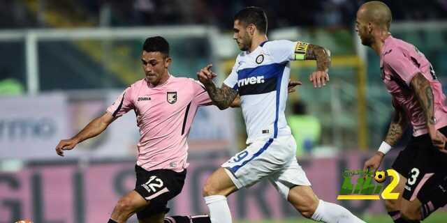 إنتر ميلانو مسيطر بشكل كبير على مبارايته ضد باليرمو coobra.net