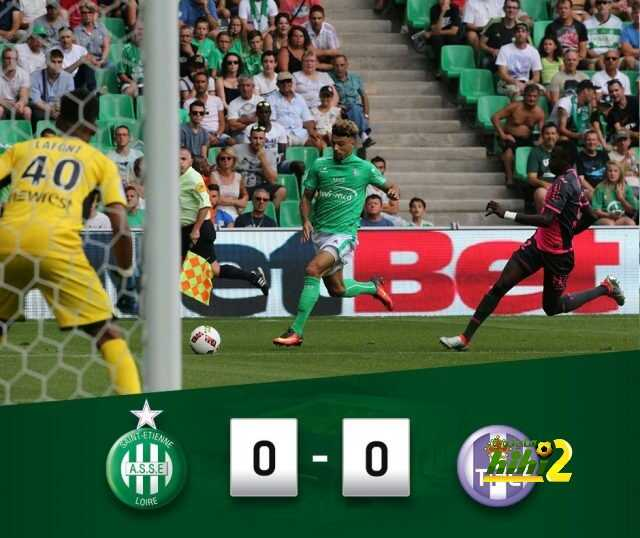سانت ايتيان يتعادل سلبيا ضد نادي تولوز ! coobra.net