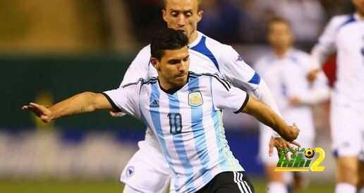 اجويرو خارج حسابات منتخب الآرجنتين للإصابة coobra.net