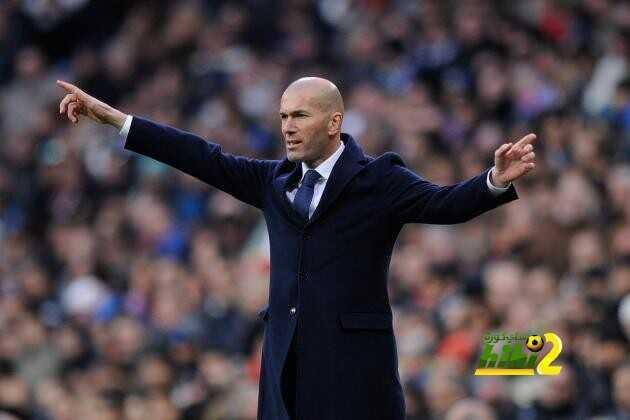 رقم مميز يقترب زيدان من تحقيقه مع ريال مدريد coobra.net