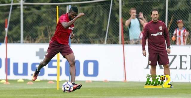 صور : اتليتكو مدريد يتدرب في غياب لاعبيه الدوليين coobra.net