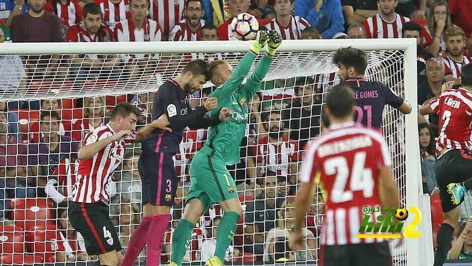 شتيغن يحقق رقما قياسيا مع برشلونة ..! coobra.net